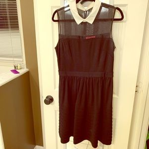 Cute Betsey Johnson collar dress